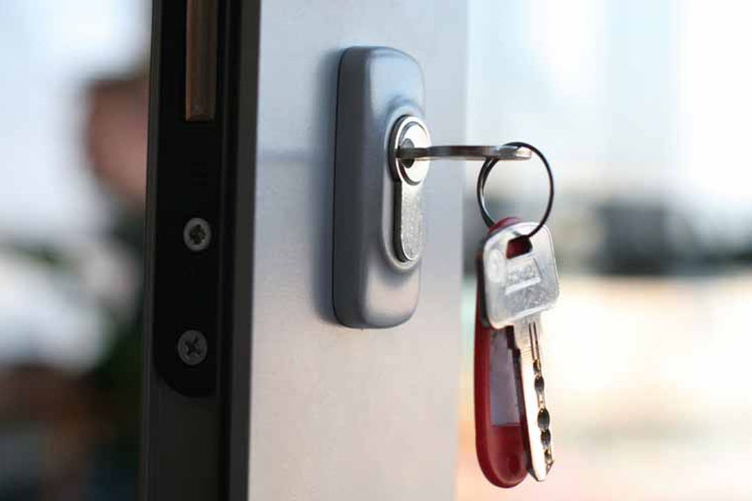 Bestillingen af en låsesmed foregår online